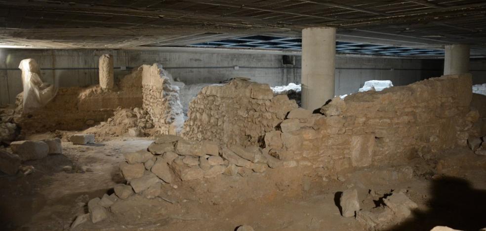 El Palacio del Almirante abre al público las ruinas romanas del sótano