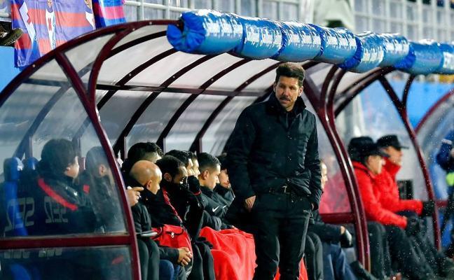 Simeone: «Siempre con 1-0 se ve peligrar cualquier cosa»