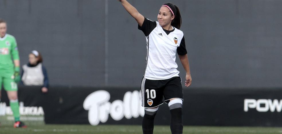 Mari Paz celebra con un triplete su centenar de goles