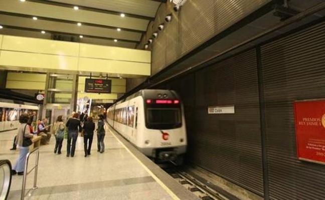 Los paros frenan la subida de viajeros en Metrovalencia