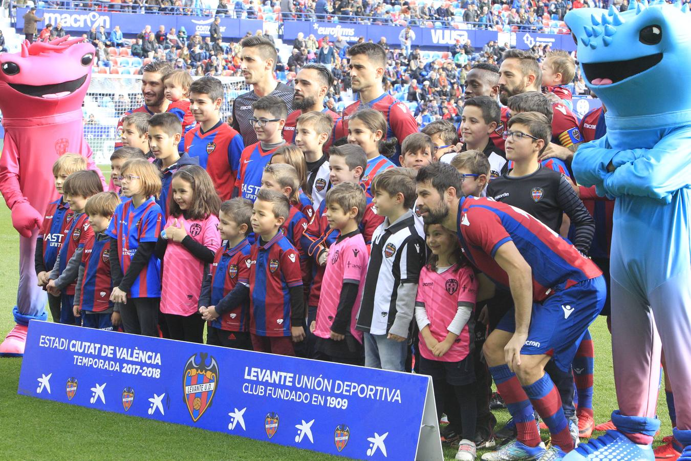 Fotos del Levante UD-Celta de Vigo