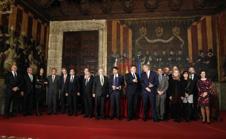 Fotos de los premios de la Fundación Manuel Broseta
