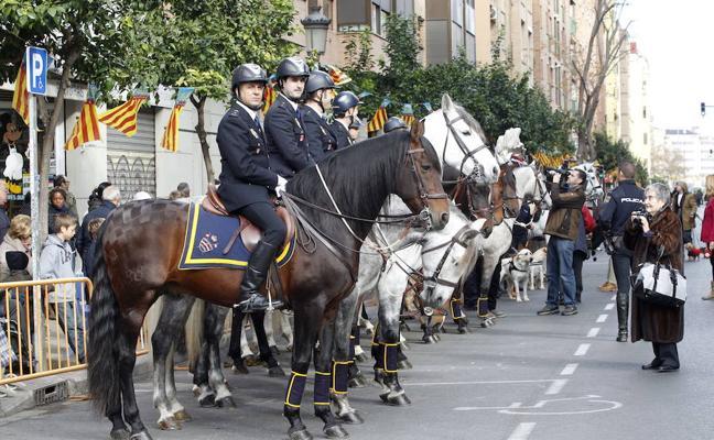 Horario y recorrido de las celebraciones de San Antonio Abad en Valencia