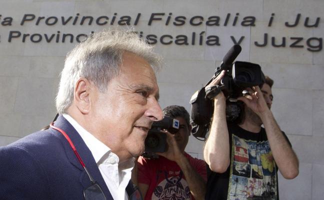 Alfonso Rus pide al juez que levante el embargo de 24 propiedades