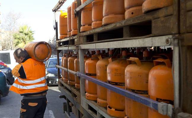 El precio de la bombona de butano sube un 1,6% a partir de hoy, hasta los 14,68 euros