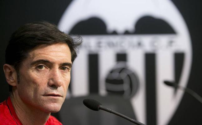 Marcelino: «Nadie ha hablado conmigo para ampliar mi contrato pero estoy muy feliz en Valencia»