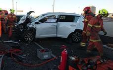 Dos muertos por accidente marcan una jornada trágica en las carreteras valencianas