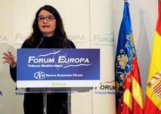Mónica Oltra propone crear una identidad valenciana basada en el «patriotismo de la gente» en torno al bienestar social