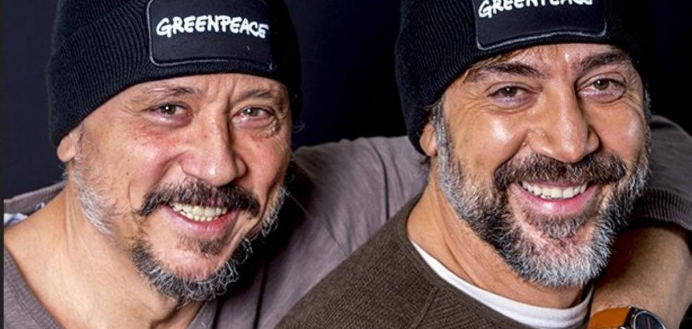 Los hermanos Bardem, a la Antártida con Greenpeace