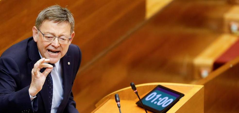 Ximo Puig pide comparecer en la comisión general de comunidades autónomas del Senado para hablar de financiación