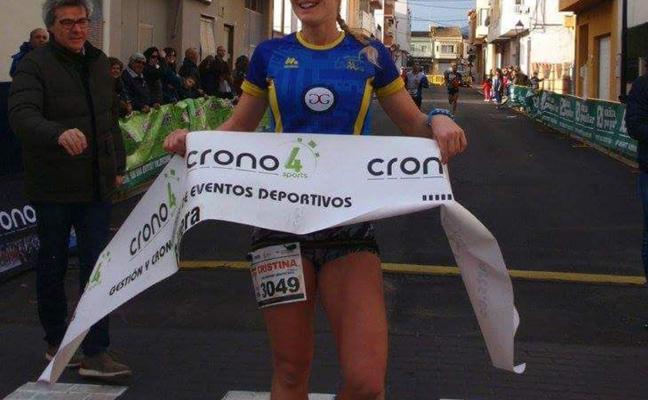 La xabiera Cristina Roselló vence con claridad en la Volta a Peu a Palmera