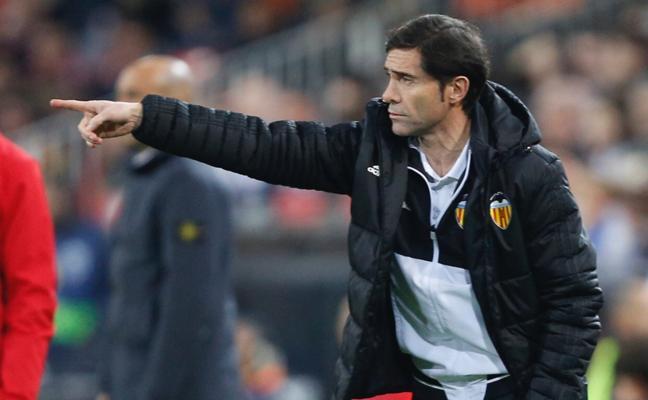 Marcelino: «Desde el sorteo pensábamos que estábamos en semifinales»