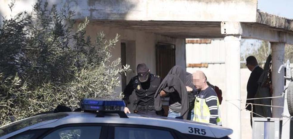 El asesino confeso de Patraix ocultó el cuchillo cebollero en una finca de su propiedad