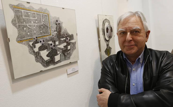 Fotos de la exposición de Luis Furió en la casa de Cultura de Alboraia