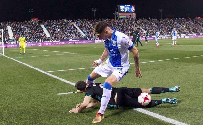 Ocho partidos al utillero del Leganés por insultar al árbitro: «Cagones»