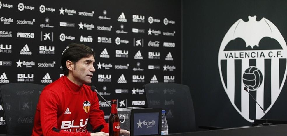 Marcelino: «No es imposible hacer otra vuelta de 40 puntos»