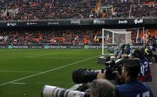 El Valencia CF - Levante UD, el domingo 11 a las 20:45 horas