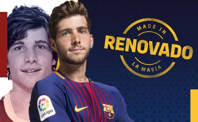 Sergi Roberto decide seguir en el Barça hasta 2022