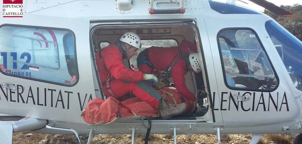 Dos heridos graves en el accidente de un ultraligero en La Pobla de Benifassà