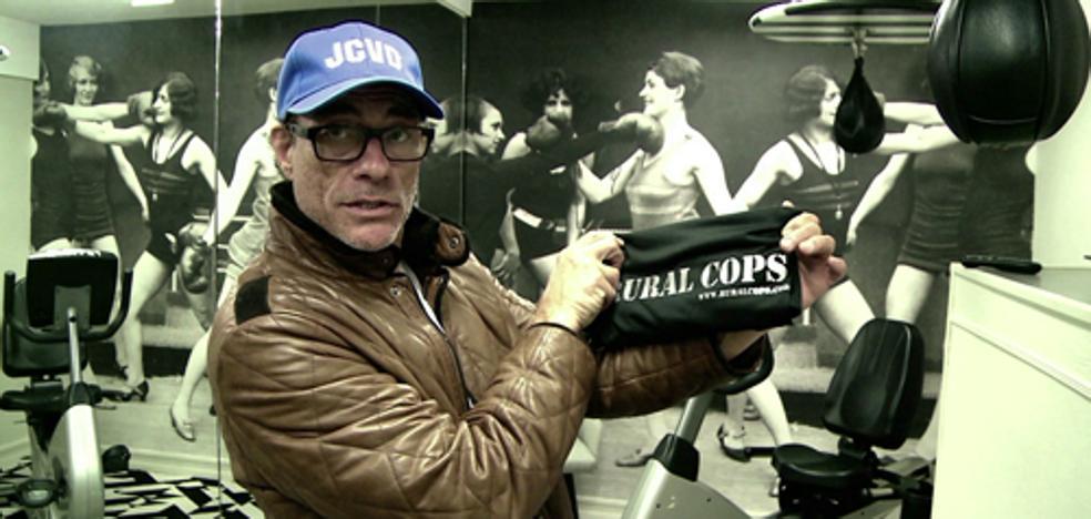 Jean Claude Van Damme muestra su apoyo a 'Rural Cops', película rodada en Benitatxell