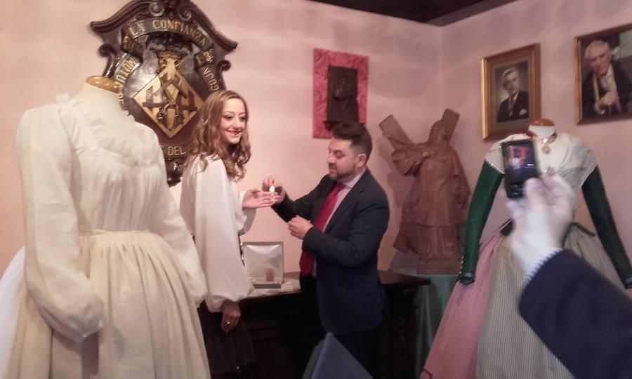 Fotos del traje de Rocío Gil, fallera mayor de Valencia 2018, para la Gala de la Cultura