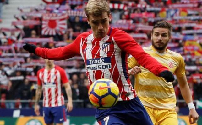 El Girona le amarga la tarde al Atlético