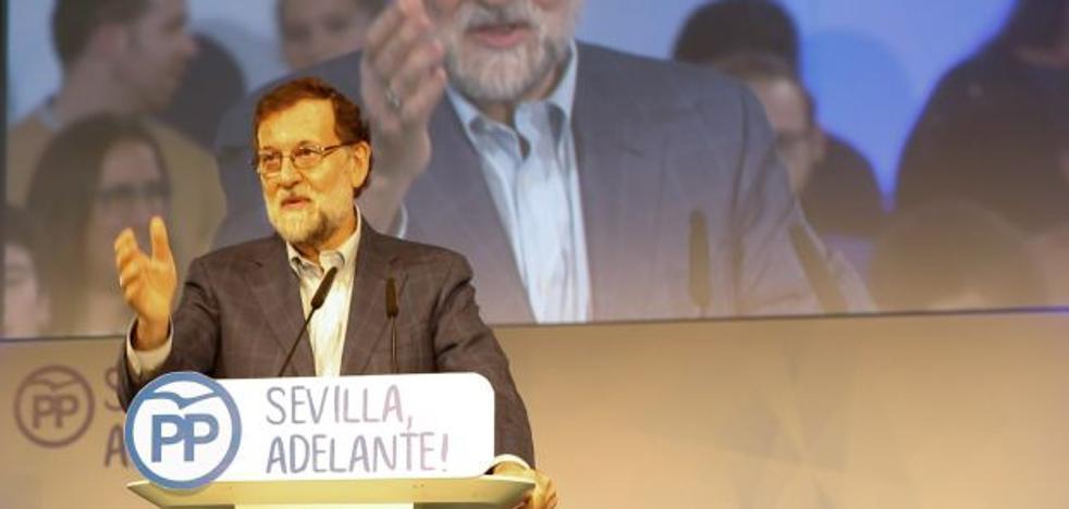 Rajoy critica que el PSOE «utilice políticamente» la financiación y «no dé un solo paso para construir algo positivo»