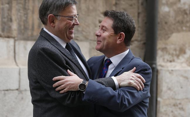 La quita de la deuda que defiende Puig encuentra el apoyo de García-Page