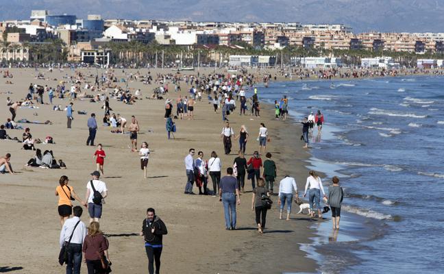 26 grados en Valencia ¡en pleno enero!