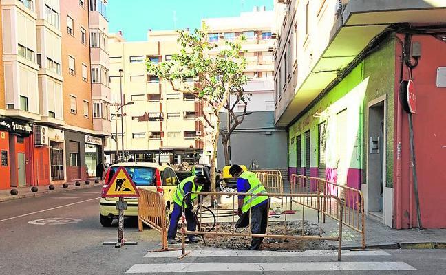 Inician las obras de mejora de accesibilidad del barrio San Jorge