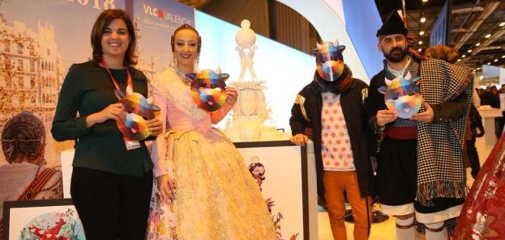 Okuda plantará en Valencia «la falla más colorista»