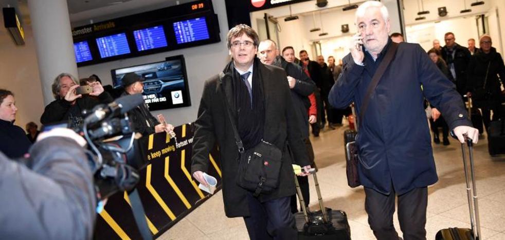 Puigdemont llega a Copenhague