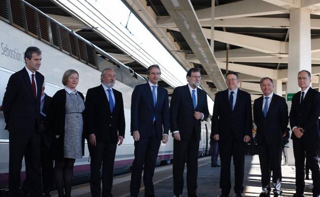 El AVE llega a Castellón una década después