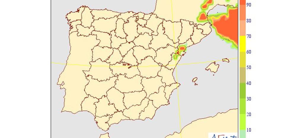 Alerta por fuertes vientos en Castellón