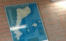 La Fiscalía investiga amenazas al instituto de Benicàssim que exhibe un mapa de los Països Catalans