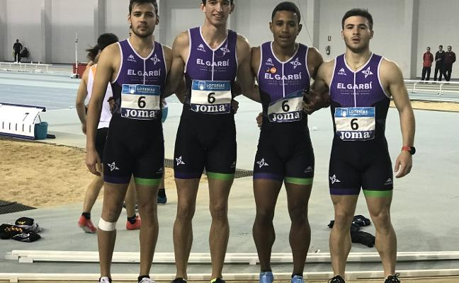 El Garbí, entre los cinco mejores equipos sub-20 de atletismo