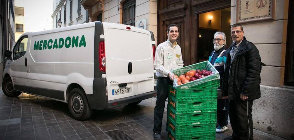 Mercadona comienza a colaborar en Valencia con el comedor del Casal de la Pau