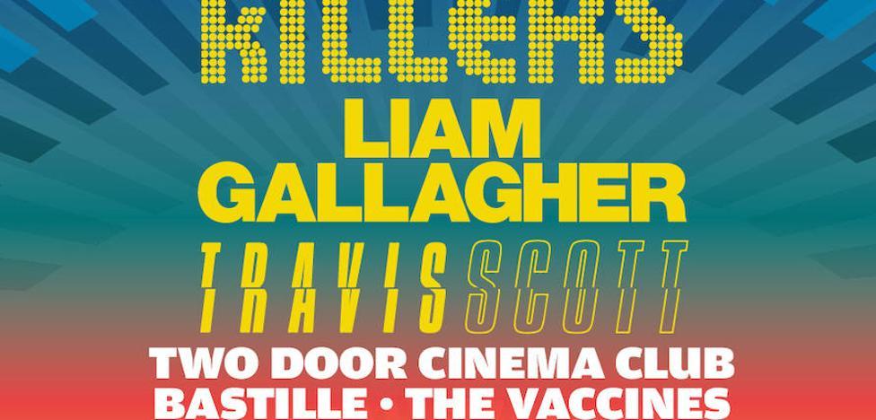 Liam Gallagher y Travis Scott, cabezas de cartel del FIB 2018