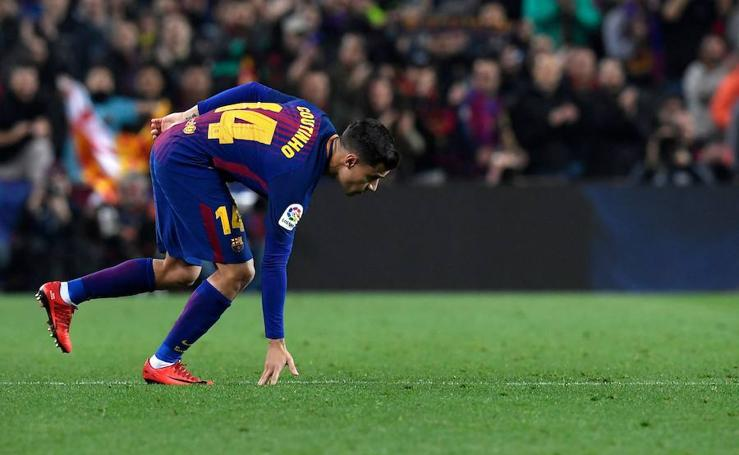 Los mejores momentos del Barcelona-Espanyol, en imágenes