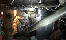 La explosión de un horno de gasoil causa tres heridos en Valencia