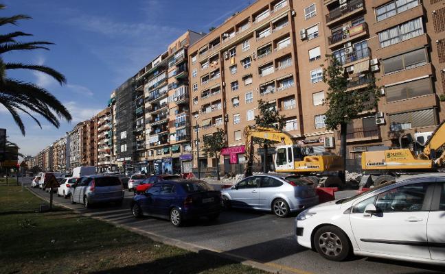El tráfico aumenta en la avenida del Cid en 3.400 coches al día en un año