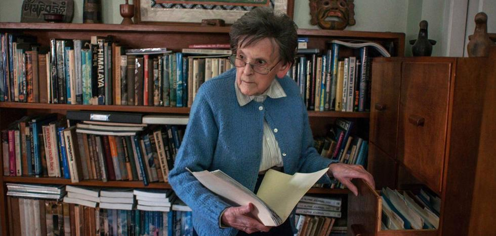 Muere a los 94 años la 'Sherlock Holmes' del Himalaya