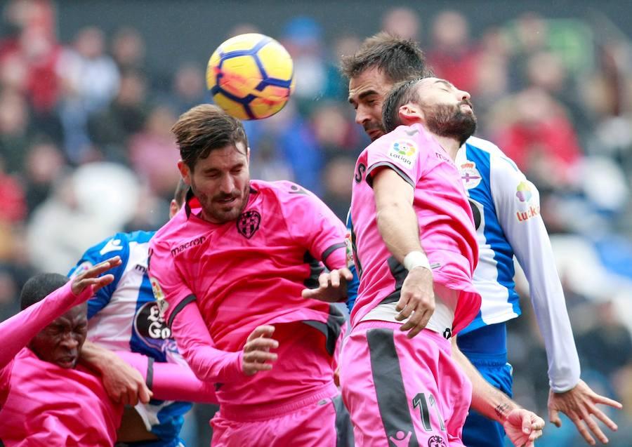 Fotos del Deportivo-Levante