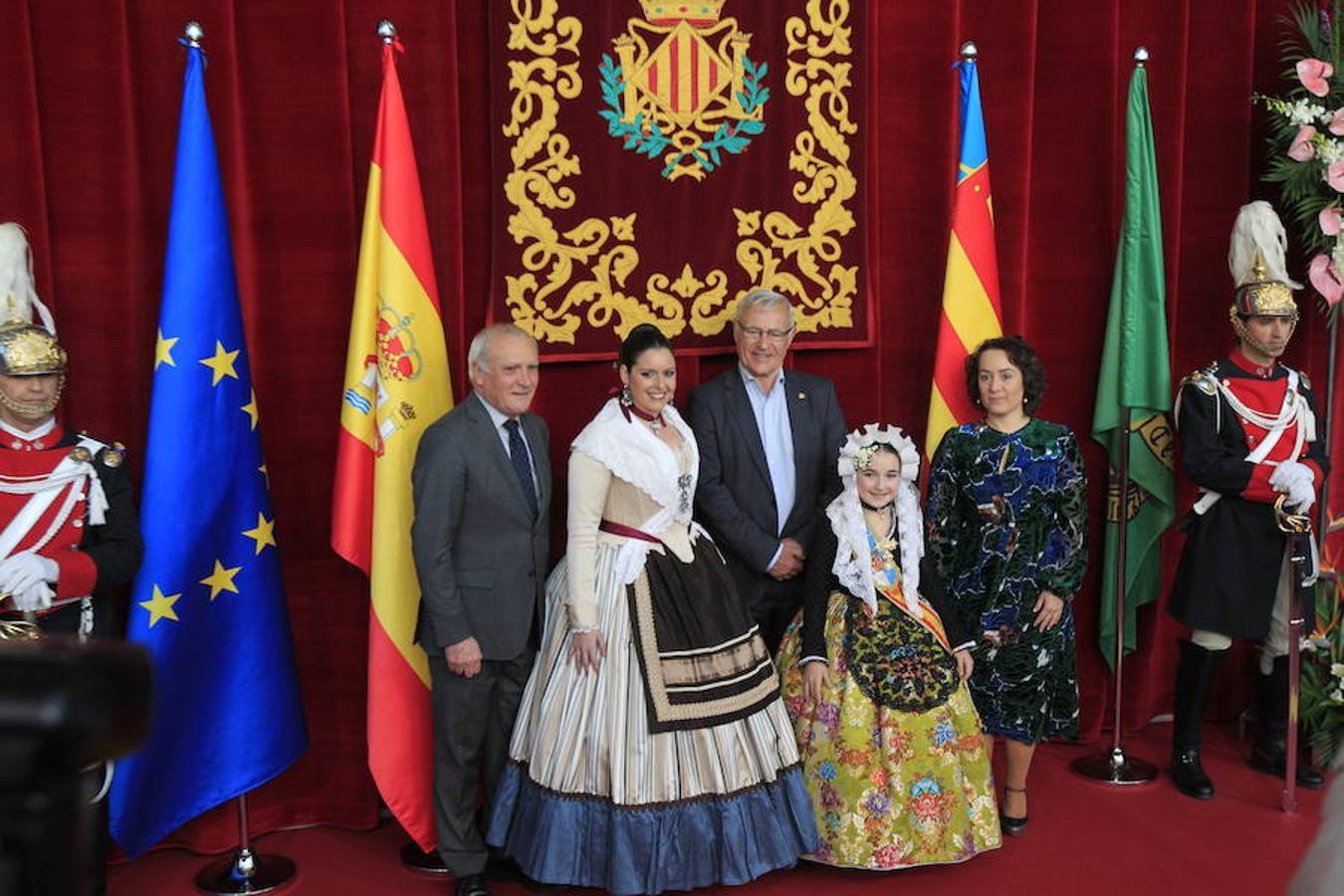 Fotos de la exaltación de la fallera mayor infantil de Valencia
