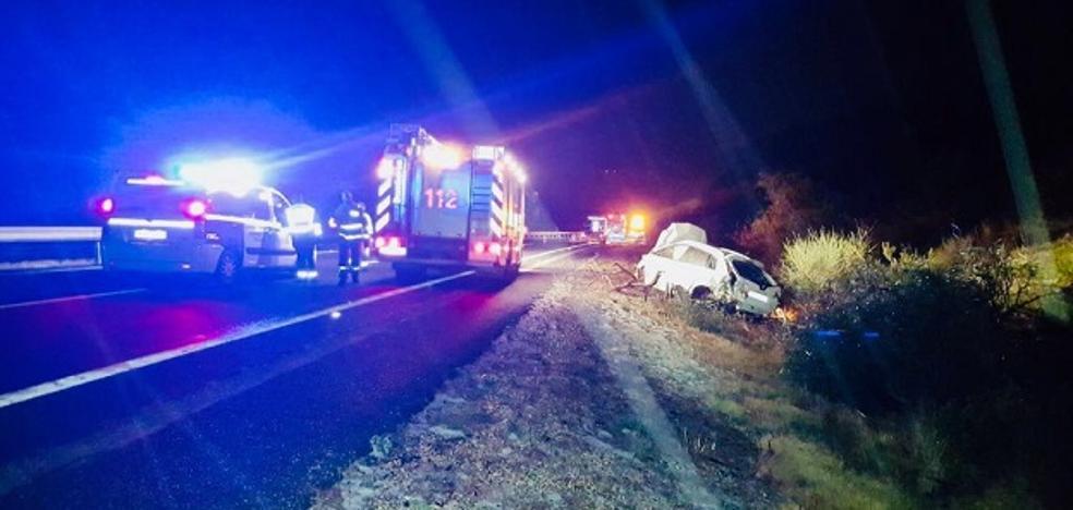 Tres fallecidos y un herido grave en una colisión múltiple con 5 vehículos implicados en la AP-7 en Benissa