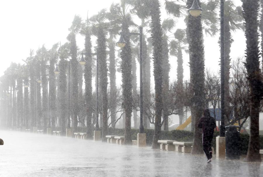 Fotos del temporal en la Comunitat Valenciana