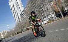 Federico Varona, pedaladas como terapia antiestrés
