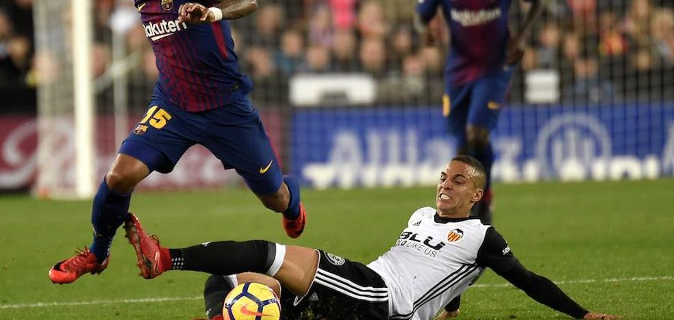 Rodrigo: «¿Imposible ganar al Barça de Messi? No, tenemos nuestras armas»