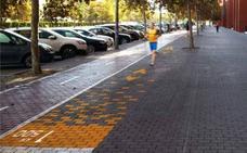 Arrancan las obras del circuito saludable en la avenida de Tarongers