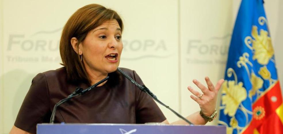 Isabel Bonig: «Francisco Camps hizo cosas buenas y otras que no estuvieron bien»